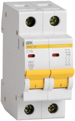 Iek MVA20-2-040-C Авт. выкл.ВА47-29 2Р 40А 4,5кА х-ка С ИЭК