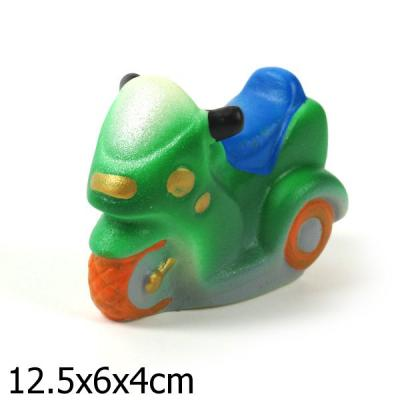 Купить Резиновая игрушка для ванны Пфк игрушки Скутер 12.5, разноцветный, Игрушки для купания