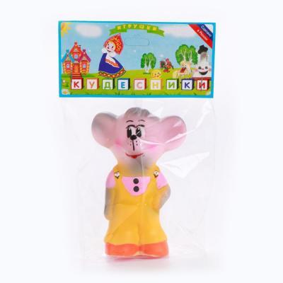 Купить Резиновая игрушка Пфк игрушки Мышонок 12 см, в ассортименте, Игрушки для купания