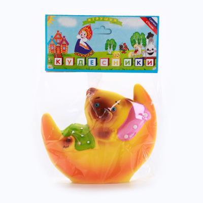 купить Резиновая игрушка Пфк игрушки Мишка на Луне 11 см по цене 85 рублей