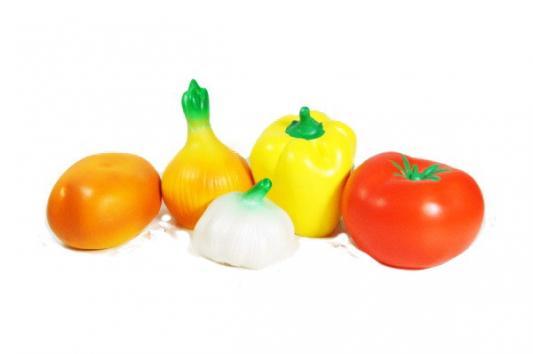 игрушки для ванны Набор игрушек для ванны Пфк игрушки Овощи 14 см