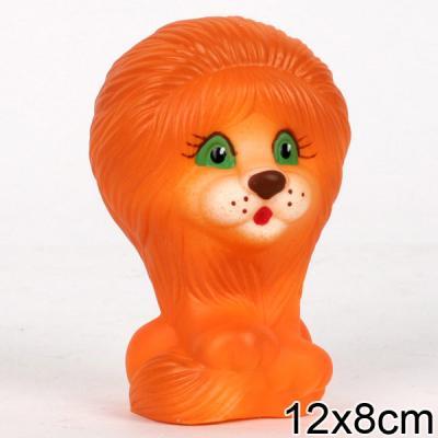 Резиновая игрушка Пфк игрушки Львёнок 12 см