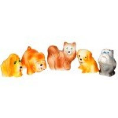 игрушки для ванны Набор игрушек для ванны Пфк игрушки Собачки