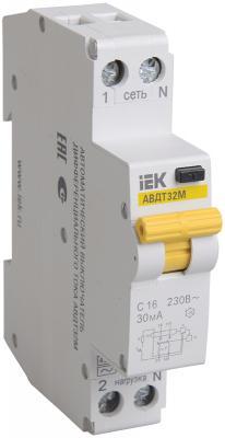 Iek MAD32-5-016-B-30 АВДТ32М В16 30мА - Автоматический Выключатель Диф. Тока ИЭК электродвигатель iek drv132 s4 007 5 1510