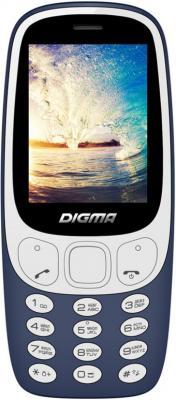 Мобильный телефон Digma N331 2G темно-синий мобильный телефон digma vox s506 4g белый