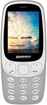 Мобильный телефон Digma N331 2G серый стоимость