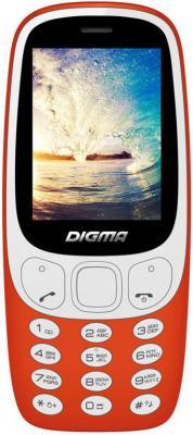 Мобильный телефон Digma LINX N331 2G красный мобильный телефон digma linx a170 черно синий
