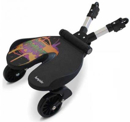 Купить Универсальная подножка для второго ребенка Bumprider splash 51291-003(Splash черный оранжевый 51291-003), Подножки для второго ребёнка