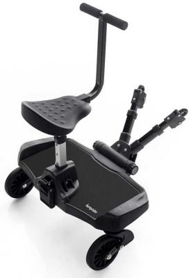 Купить Подножка для второго ребенка с сиденьем Bumprider Sit (black), Подножки для второго ребёнка