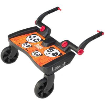 Подножка для второго ребенка Lascal Buggy Board Maxi (panda jungle orange) подножка для второго ребенка lascal buggy board maxi panda city green 2761