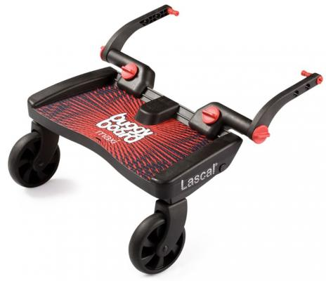 Подножка для второго ребенка Lascal Buggy Board Maxi(Red 2750) подножка для второго ребенка lascal buggy board maxi panda city green 2761