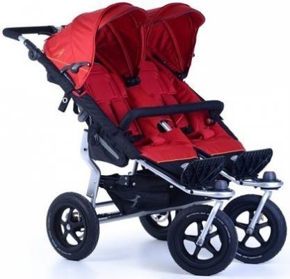 Купить Прогулочная коляска для двойни TFK Twin Adventure (345/tango red), красный, Коляски для двоих детей