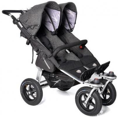Фото - Прогулочная коляска для двойни TFK Twin Trail Premium (411) коляска прогулочная everflo safari grey e 230 luxe
