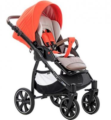 Коляска 2-в-1 Noordi Sole Sport NB (orange red) коляска 2 в 1 chicco trio stylego red passion