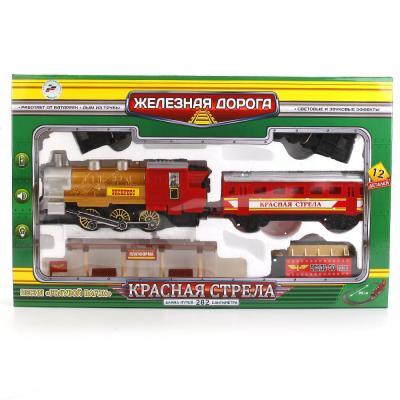 Железная дорога ИГРАЕМ ВМЕСТЕ КРАСНАЯ СТРЕЛА с 3-х лет A144-H06049-R2 николаевич с нубина е сост красная стрела 85 лет легенде