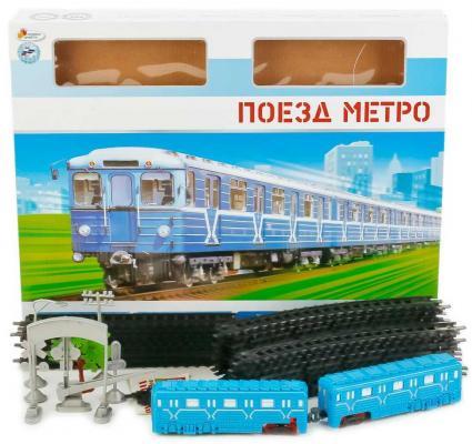 Железная дорога ИГРАЕМ ВМЕСТЕ Поезд метро с 3-х лет B806137-R11 играем вместе железная дорога мой поезд с дымом играем вместе играем вместе