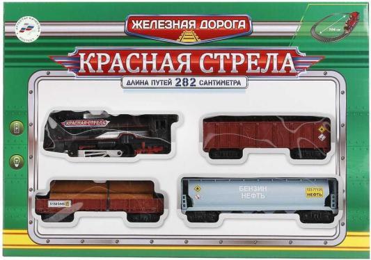 Купить Железная дорога ИГРАЕМ ВМЕСТЕ Красная стрела с 3-х лет B869766-R, Детская железная дорога