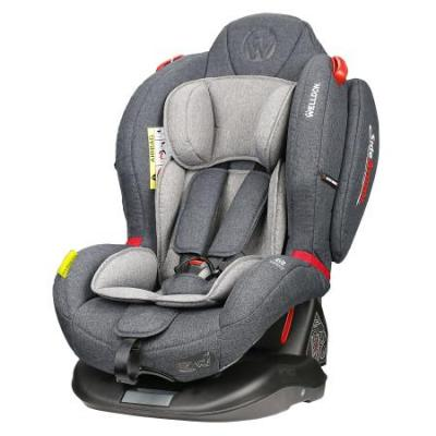 Автокресло Wellodon Royal Baby Dual Fit (grey) автокресло wellodon safe rotate fix grey