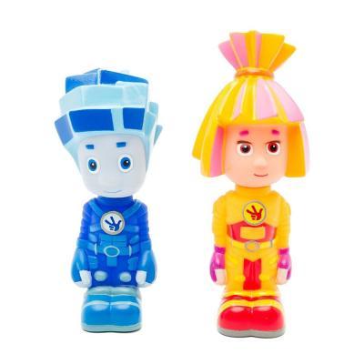 Купить Набор игрушек для ванны ИГРАЕМ ВМЕСТЕ Фиксики - Симка и Нолик 10 см 155R-PVC-NEW, разноцветный, Игрушки для купания