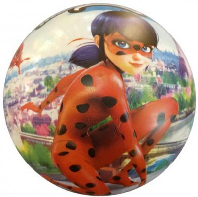 Купить Мяч-попрыгун ИГРАЕМ ВМЕСТЕ Леди Баг разноцветный ПВХ, унисекс, Мячи и животные прыгуны