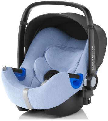 Летний чехол для автокресла Britax Romer Baby-Safe i-Size (голубой) база для установки автокресла britax romer baby safe isofix base