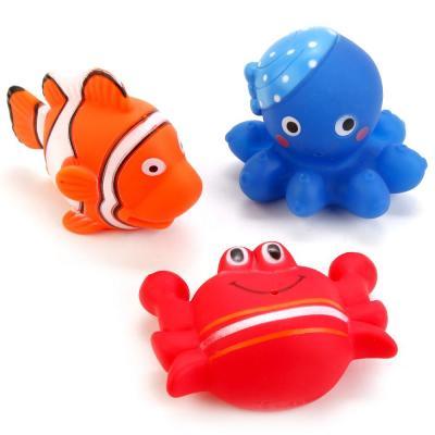 ИГРУШКИ ДЛЯ ВАННОЙ ИГРАЕМ ВМЕСТЕ 3 ВОД. ОБИТАТЕЛЯ В СЕТКЕ (РУСС. УП.) в кор.2*120шт игрушки для ванной играем вместе 4 вод обитателя в сетке русс уп в кор 2 144шт