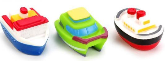 Резиновая игрушка для ванны ИГРАЕМ ВМЕСТЕ 3 корабля ишрушки для ванны играем вместе 3 дракона 239223