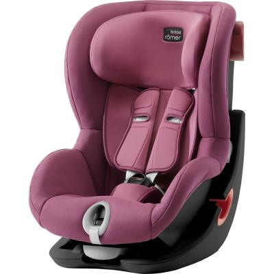 Автокресло Britax Romer King II Black Series (wine rose trendline) fashionable purple twill pattern 8 5cm width deep blue tie for men
