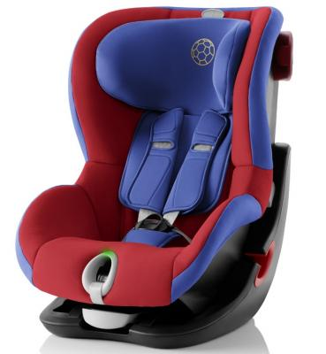 Автокресло Britax Romer King II LS Black Series (football edition highline) автокресло 2 3 15 36 кг britax roemer kidfix ii xp sict black series football edition highline