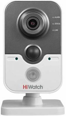 Камера IP Hikvision DS-I114W CMOS 1/4 2.8 мм 1280 x 720 H.264 MJPEG Wi-Fi PoE черный серый suneyes sp t05ewp 1 4 cmos 0 3mp ip camera w 11 ir led wi fi tf white eu plug