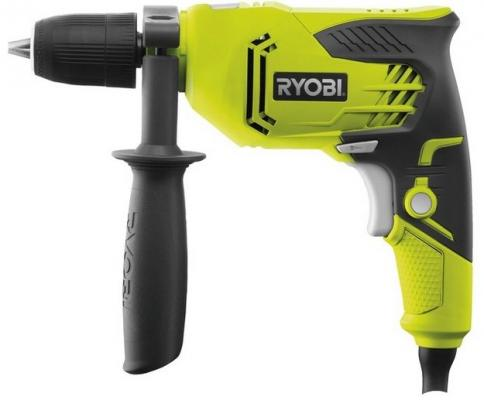 Ударная дрель Ryobi RPD500G 500Вт шуруповерт ryobi r12dd ll13s 3001802
