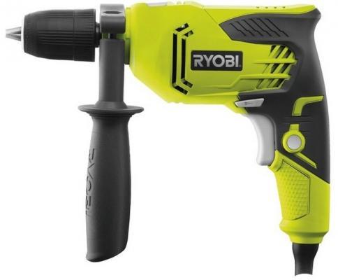 Ударная дрель Ryobi RPD500G 500Вт дрель ударная ryobi rpd1680 680 вт