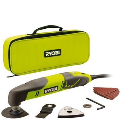 Инструмент многоф. RYOBI RMT200S 200Вт 10000–20000/мин 1.5° в сумке +насадки сверло ryobi rak07sb