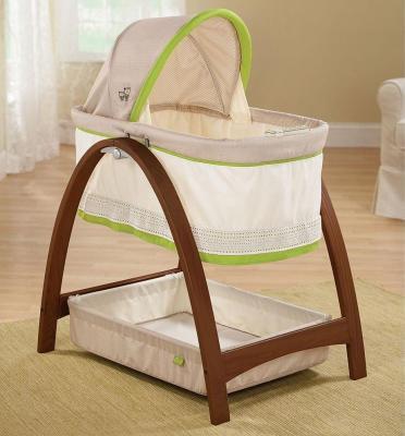 Люлька Summer Infant Bentwood (темное дерево) summer infant детская ванна с гидромассажем