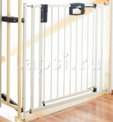 Ворота безопасности 84,5-92,5см Geuther Easylock (белый) ворота безопасности дверные 86 121х93 5 133см geuther натуральный