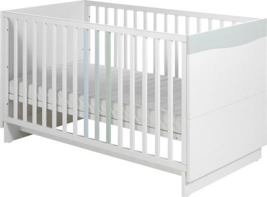 Купить Кроватка Geuther Wave (белый/пастель), бук, Кроватки-качалки