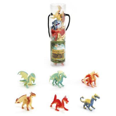 Набор фигурок ИГРАЕМ ВМЕСТЕ Набор из 6 драконов