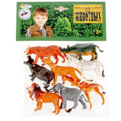 Набор фигурок ИГРАЕМ ВМЕСТЕ Дикие животные 8 см цены онлайн