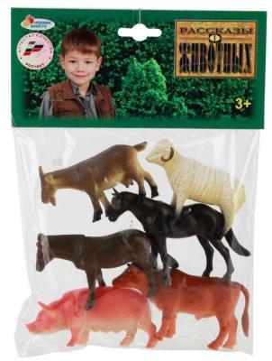 Набор фигурок ИГРАЕМ ВМЕСТЕ Домашние животные 10 см набор фигурок dress it up домашние животные 12 шт 7702161