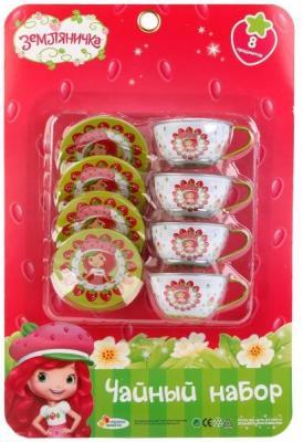 Набор посуды Играем вместе Шарлотта Земляничка металлическая набор посуды orion kristinka 2 металлическая