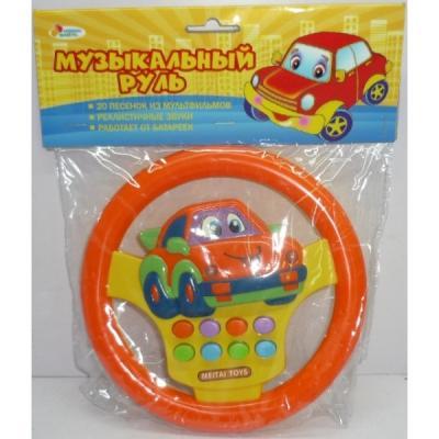 Интерактивная игрушка ИГРАЕМ ВМЕСТЕ Электронный руль от 3 лет B675115-R автомобиль играем вместе багги р у 1 14 зелёный от 3 лет пластик металл b1564386 r