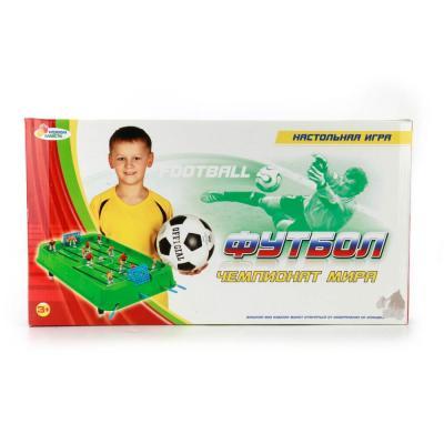 Настольная игра ИГРАЕМ ВМЕСТЕ футбол A553-H30007-R настольная игра играем вместе футбол