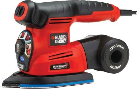 Купить Машинка шлифовальная дельта BLACK & DECKER KA280K-QS 4в1 220Вт диск125мм платф.136см2 насадки кейс