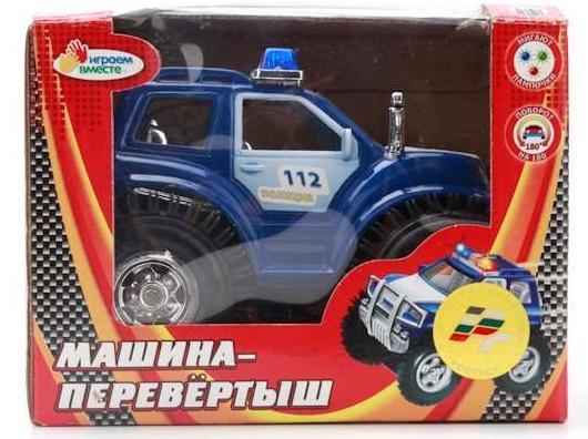 Купить Машина-перевёртыш ИГРАЕМ ВМЕСТЕ Машина-перевёртыш цвет в ассортименте, Детские модели машинок