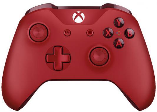 Геймпад Беспроводной Microsoft WL3-00028 красный для: Xbox One