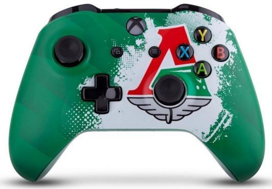 Геймпад Беспроводной Microsoft Локомотив Чемпионский экспресс зеленый для: Xbox One (TF5-00004-LMO)
