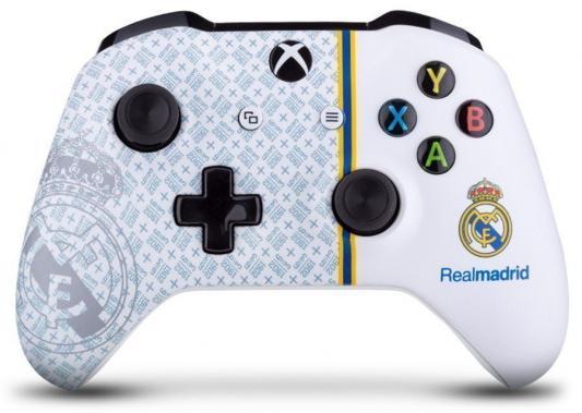 Геймпад Беспроводной Microsoft ФК Реал 1902 сливочный для: Xbox One (TF5-00004-MAD) цена