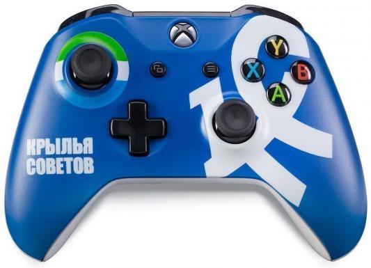 Геймпад Беспроводной Microsoft ФК Крылья Советов синий для: Xbox One (TF5-00004-KC) TF5-00004-KC