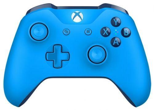 Геймпад Беспроводной Microsoft WL3-00020 синий для: Xbox One геймпад microsoft xbox one controller minecraft creeper wl3 00057