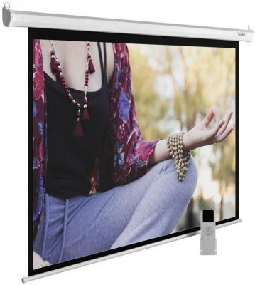 Картинка для Экран Cactus 210x280см MotoExpert CS-PSME-280x210-WT 4:3 настенно-потолочный рулонный белый (моторизованный привод)